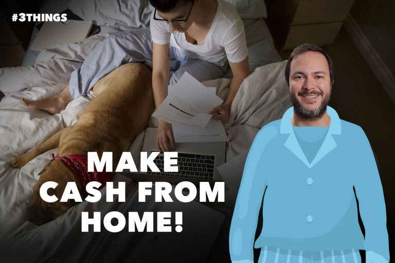 5 Ways to Make Money From Home (60-Second Video)
