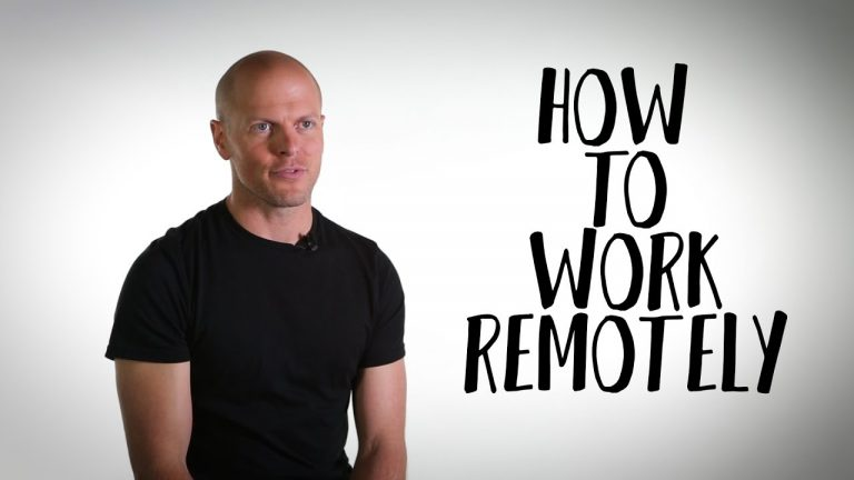 Want to Work From Home? Tim Ferriss on the Best Way to Start
